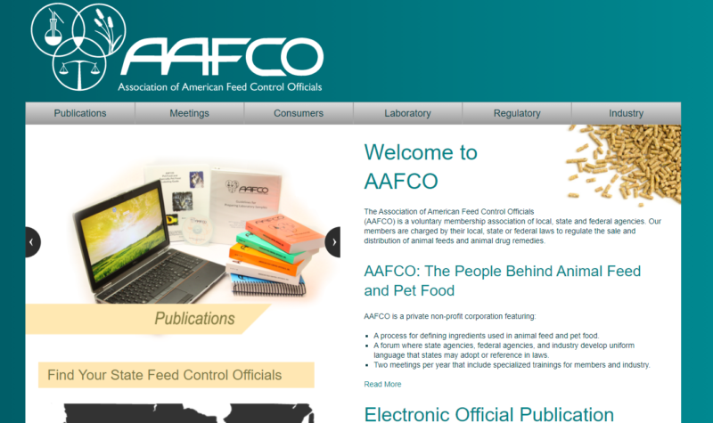 AAFCO 米国飼料検査官協会