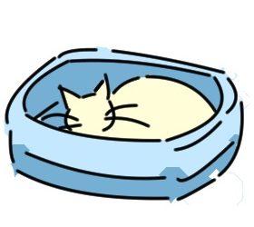 猫トイレ 箱トレイ型
