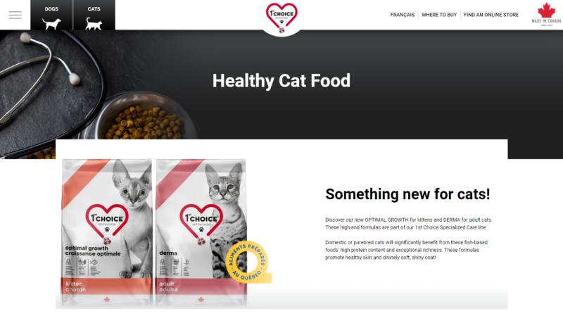 ファストチョイス キャットフード Cat-Food 1st-Choice